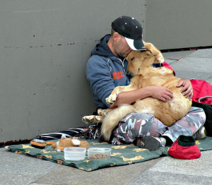 Homeless People and their Dogs - Unconditional Love 3