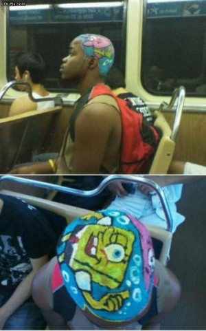 ... Page 16/18 from Funny Pictures 1400 (Spongebob Hair) Posted 2/18/2013