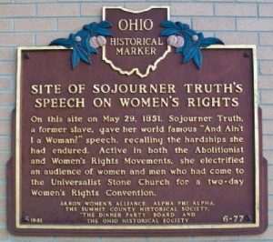 Site of Sojourner Truth's Speech on Women's Rights Marker Photo, Click ...
