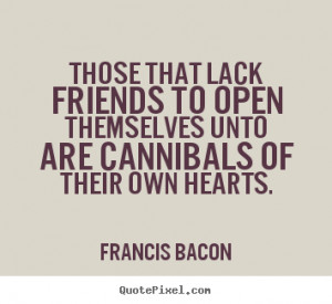 Francis Bacon Friendship Quote