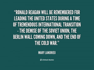 Cold War Ronald Reagan Quotes