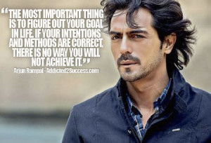 Arjun Rampal Inspirational Picture Quote For Success