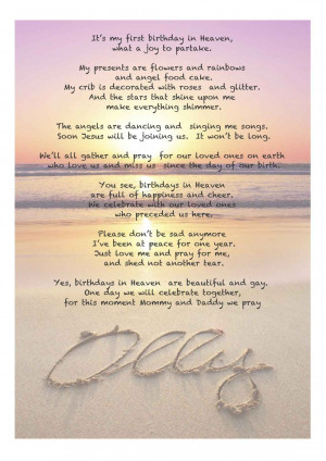 birthday poems for dad from son happy birthday in heaven son poem ...