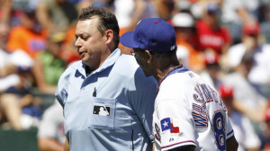 Texas Rangers Manager Ron...