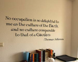 Thomas Jefferson Quote Wall Decal