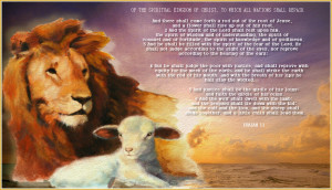 DOWNLOADOTHER VERSIONS OF THE LION AND LAMB IMAGE: