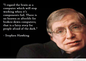 Brain Quote Stephen Hawking