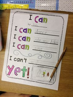 Can't ...YET!:) poetry! Activities to learn about the virtue of ...