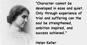 Helen Keller with ALS