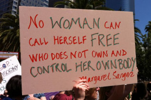Best Signs From L.A.'s 'Unite Against the War on Women' Rally