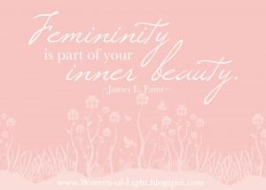 The Joy of Womanhood