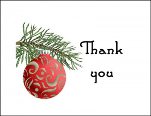 religious christmas thank you messages