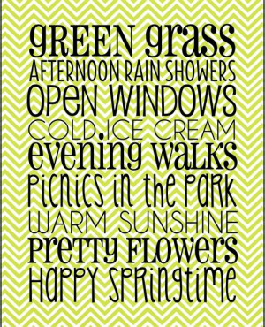 spring sayings pinterest | Printable quotes and sayings / Free Spring ...