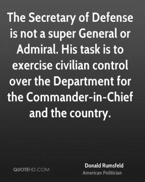 Donald Rumsfeld Quotes