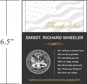Thank You Military Plaques and Appreciation Quotes | DIY Awards