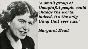 Margaret mead famous quotes 2