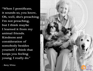 Quote: Kindness and Consideration Keeps You Feeling Young by Caitlin ...