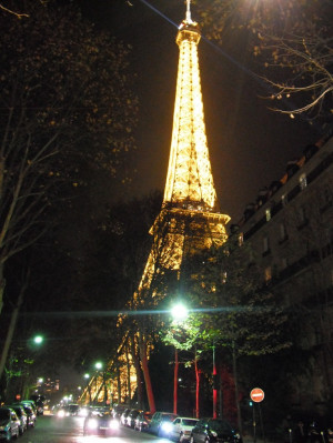 Eiffel tower. I think a piece of my heart is in Paris!