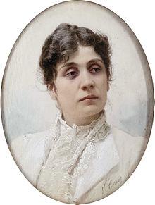 Eleonora Duse ( Vittorio Matteo Corcos )