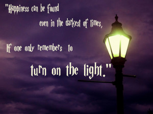 Albus Dumbledore Quotes Light