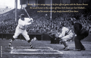 Babe Ruth performs one final year—with the struggling Boston Braves ...