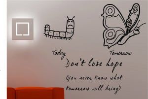 will discuss about the essence or charm of Inspirational Wall Quotes ...