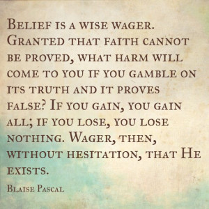 Blaise Pascal quote