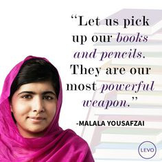 10 of the Greatest Quotes From Women in 2013 | Levo League | Malala ...