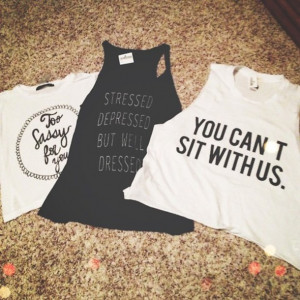 shirt muscle tank crop tops mean girls funny quote shirt tank top edit ...