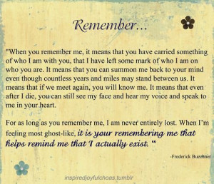 quote :) for my funeral may it be many many many like 40 plus years ...