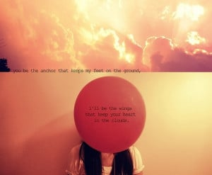clouds, girl, mayday parade, quote, quotes, red, sky, sunlight