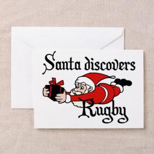 Funny sayings Santa Claus Greeting Cards (Pk of 10