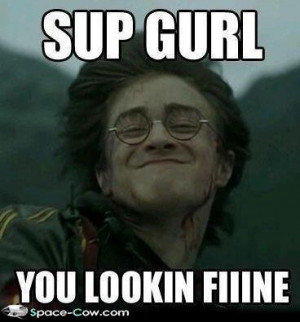 funny Harry Potter image
