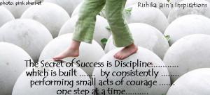 Discipline Quotes, Pictures, Success Quotes, The Secret of Success ...