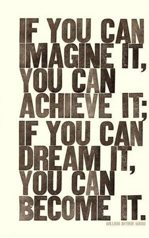 Set high goals