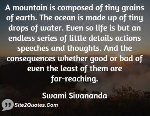 Good Quotes - Swami Sivananda
