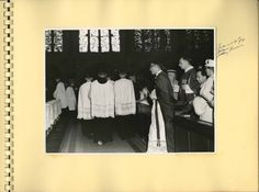 ... Henri Nouwen COMPASSION (Photo: Nouwen's first Holy Mass at
