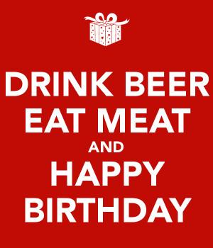 Happy Birthday Tziz And Drink