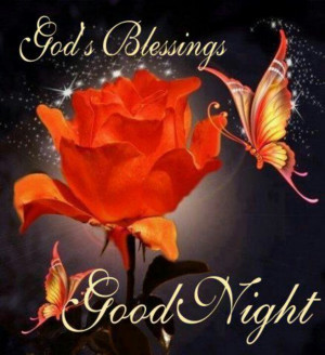 God Bless Good Night Quotes