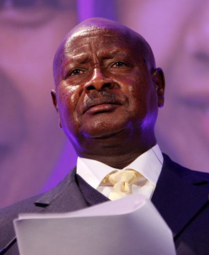 Yoweri Museveni 图片来源:DFID