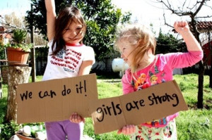 Photo of The Day: We Can Do It, Girls Are Strong!