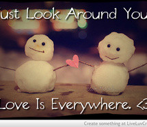 love-cute-life-snowmen-winter-christmas-snow-cold-hearts-small-pretty ...