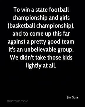 win a state football championship and girls (basketball championship ...