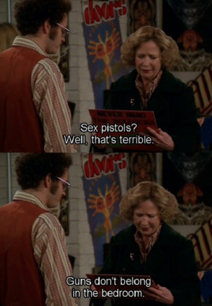 ... Hyde's Choices In Music In The Record Store On That 70′s Show