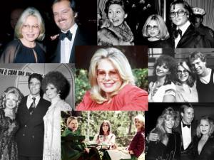 Sue Mengers with Jack Nicholson, Faye Dunaway, Barbra Streisand, Ali ...