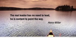 Leadership Quotes HD Wallpaper 22