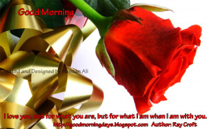 Good Morning Inspiring Love Quotes for The Day
