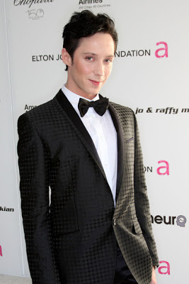 Too Adorable: Kelly Osbourne and Johnny Weir At The 18th Annual Elton ...
