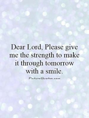 Dear God Quotes
