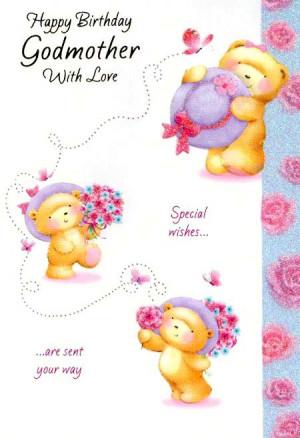 Godmother Birthday Cards